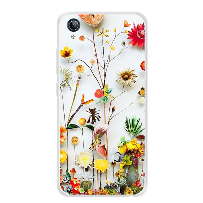 Ốp lưng dẻo cho điện thoại Vivo Y91C - 0065 FLOWER11 - Hàng Chính Hãng