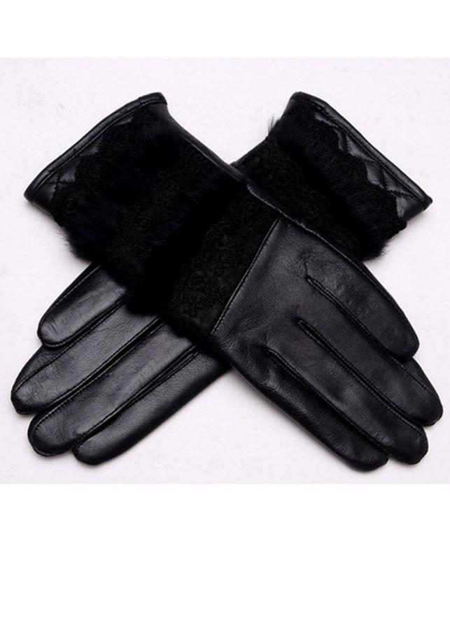 Găng tay da nữ cảm ứng BH6333