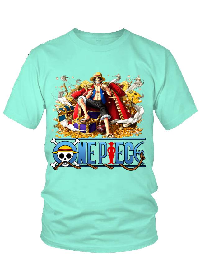 Áo thun nam One Piece Luffy M15 (Xanh Ngọc) - 1510589 , 8910814858129 , 62_13812657 , 199000 , Ao-thun-nam-One-Piece-Luffy-M15-Xanh-Ngoc-62_13812657 , tiki.vn , Áo thun nam One Piece Luffy M15 (Xanh Ngọc)