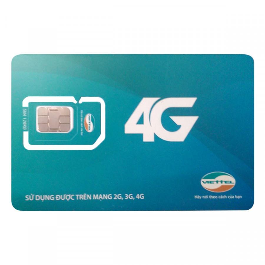 Sim 4G Viettel D70 khuyến mãi 7GB / tháng tốc độ cao