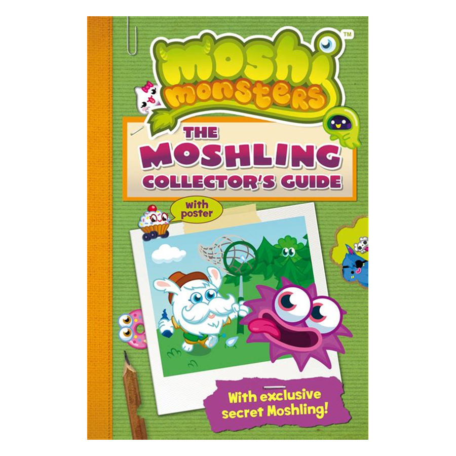 Moshi Monsters: The Moshling Collectors Guide - 1233632 , 3495611834651 , 62_5261003 , 1433000 , Moshi-Monsters-The-Moshling-Collectors-Guide-62_5261003 , tiki.vn , Moshi Monsters: The Moshling Collectors Guide