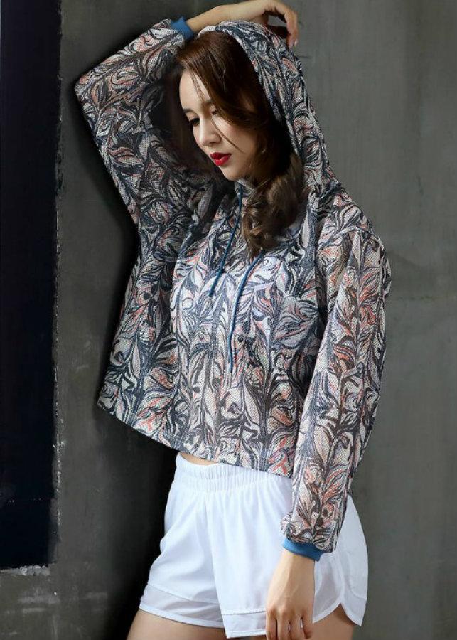 Áo hoodie lưới họa tiết Mã: AK2330
