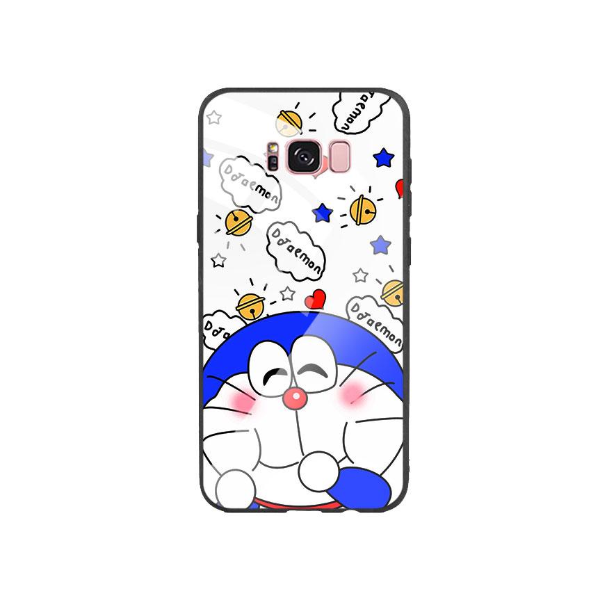 Ốp Lưng Kính Cường Lực cho điện thoại Samsung Galaxy S8 Plus - Doremon 03