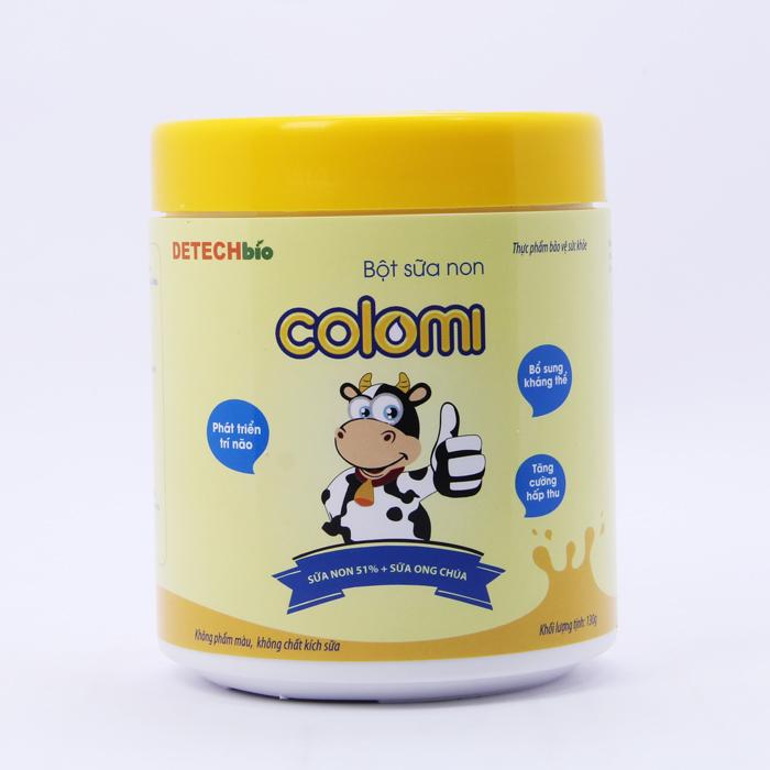 Bột sữa non Colomi 51% sữa non được nhập khẩu từ Mỹ cho bé hộp 130gr - tặng kèm ngẫu nhiên một quyển sách bất...