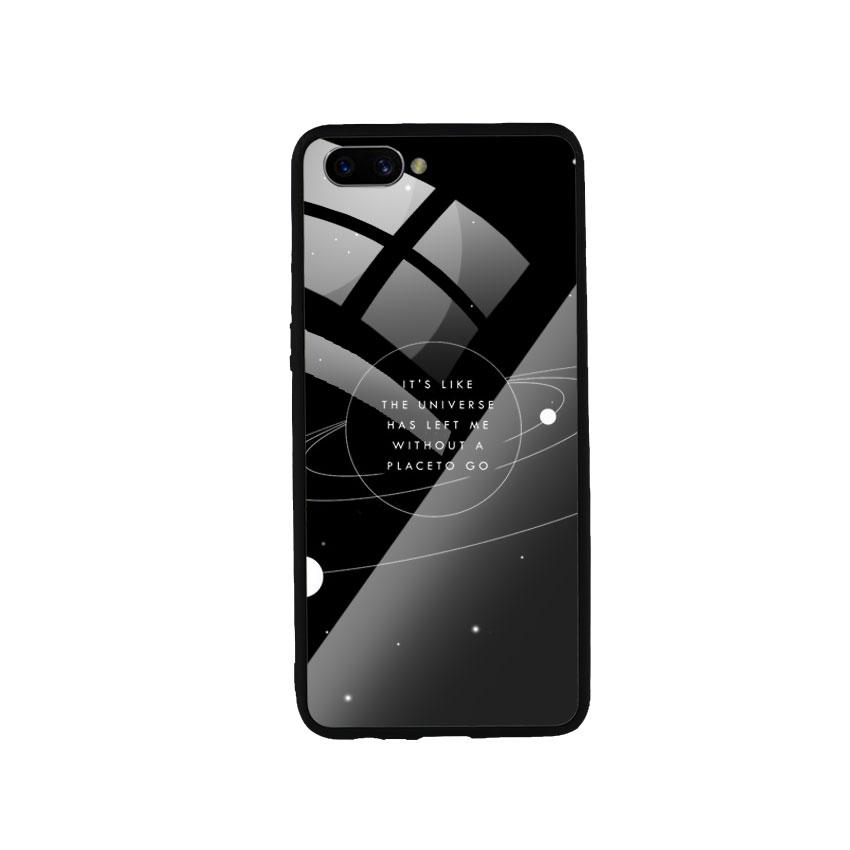Ốp Lưng Kính Cường Lực cho điện thoại Oppo A3s - Alone 02