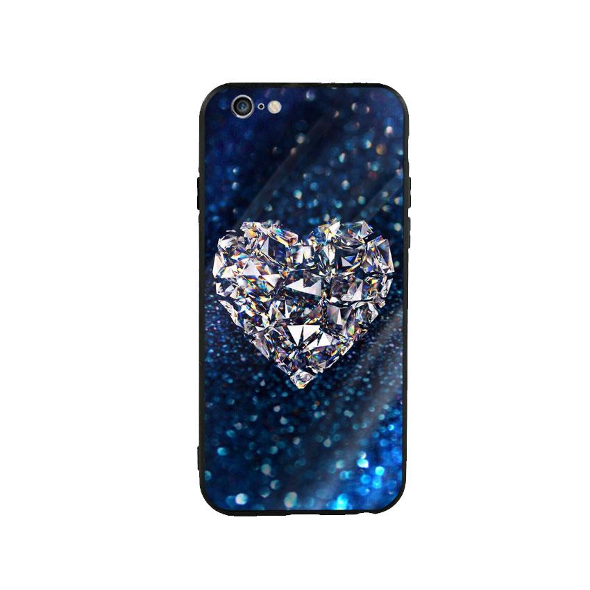 Ốp Lưng Kính Cường Lực cho điện thoại Iphone 6 Plus / 6s Plus - Heart 11