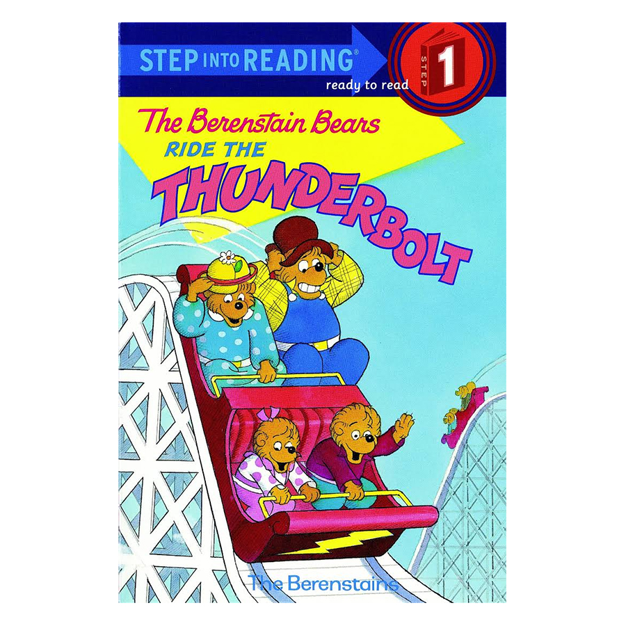 The Berenstain Bears Ride the Thunderbolt (Step-Into-Reading, Step 1)