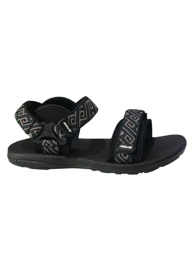 Giày Sandal Nam 2 Quai Ngang Rova RV665