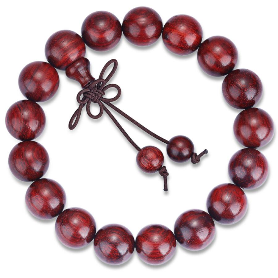 Stone jewels lobular rosewood beads bracelets old material high density men and women bracelet 12mm
