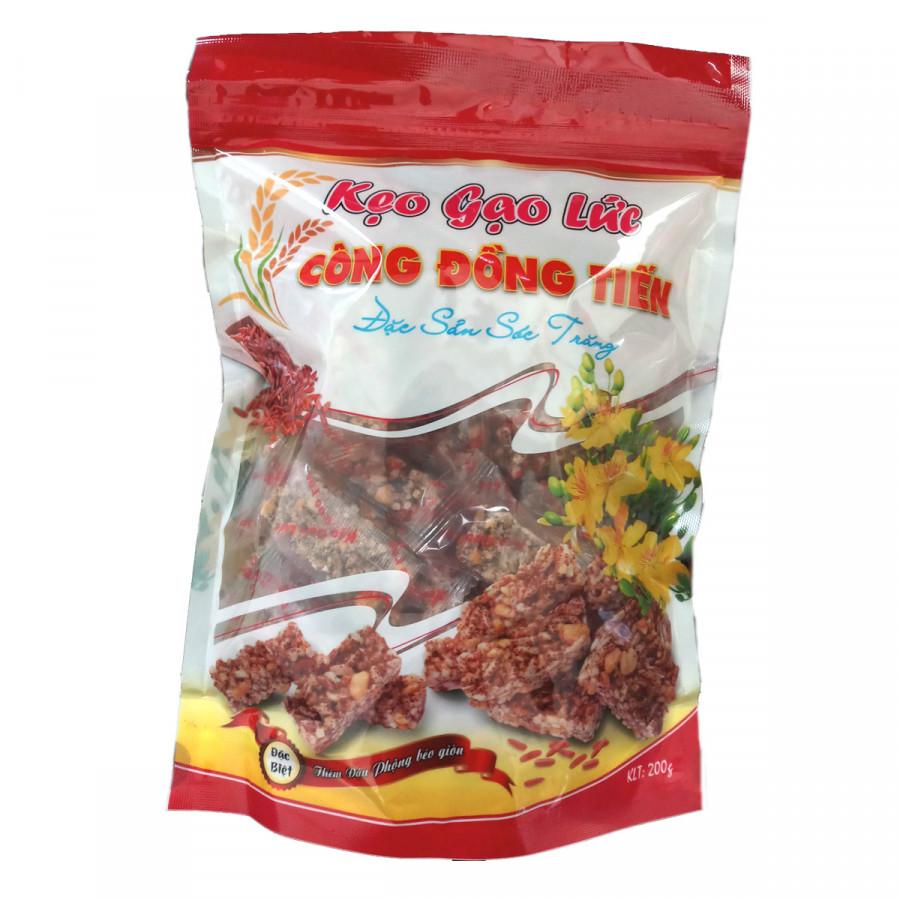 Kẹo gạo lức Công Đồng Tiến (200g) - 1159752 , 9608751322825 , 62_4612497 , 58000 , Keo-gao-luc-Cong-Dong-Tien-200g-62_4612497 , tiki.vn , Kẹo gạo lức Công Đồng Tiến (200g)