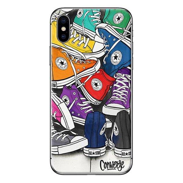 Ốp Lưng Dành Cho iPhone X - Mẫu  Giày Nhiều Màu