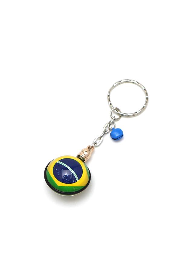 Móc khoá cờ Brazil VTK0052