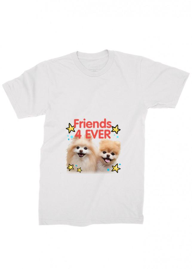 áo thun nam chó con đáng yêu ad8