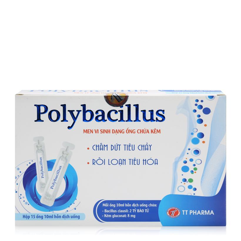 Men vi sinh chứa kẽm Polybacillus dành cho trẻ rối loạn tiêu hóa