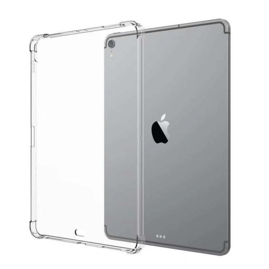Ốp lưng dẻo màu trong suốt chống va đập 4 góc cho iPad Pro 11 inch 2018