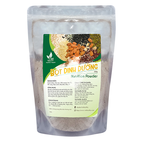 Bột dinh dưỡng cao cấp Viet Healthy 500g