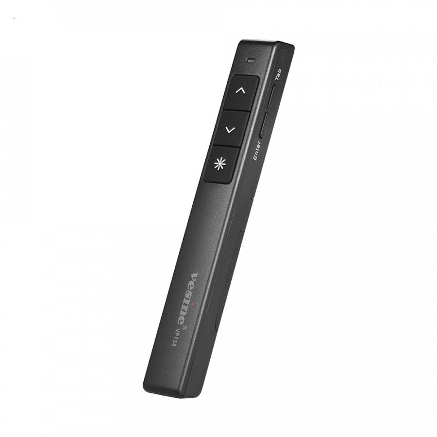 vesine VP158 USB Pointer Pen 2.4GHz Wireless Presenter Presentation PPT Powerpoint Clicker Remote Control Supports