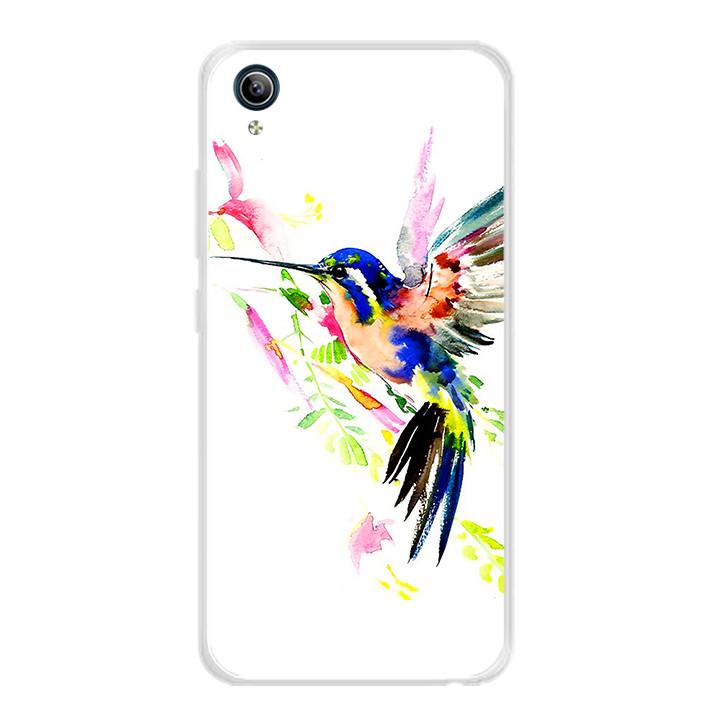 Ốp lưng dẻo cho điện thoại Vivo Y91C - 0059 BIRD02 - Hàng Chính Hãng