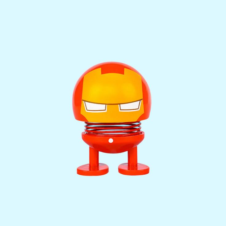 Set 3 thú nhún Emoji lò xo siêu anh hùng MV