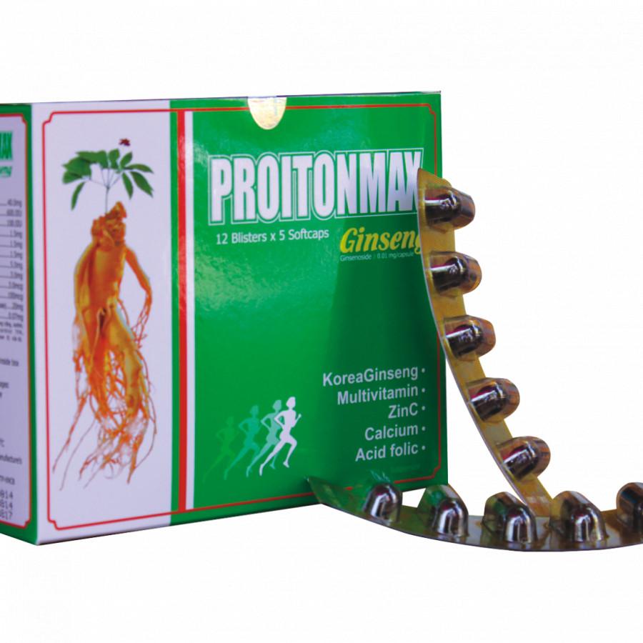 Thực phẩm chức năng Proitonmax Ginseng