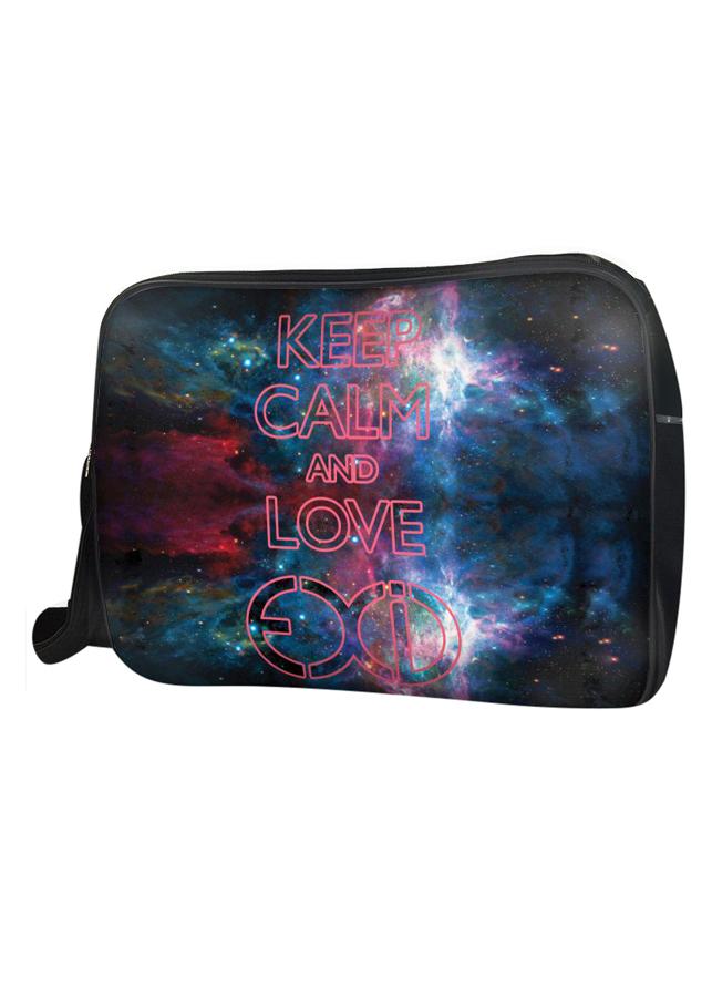Túi Đeo Chéo Hộp Unisex Keep Calm And Love Exid - TCKK040