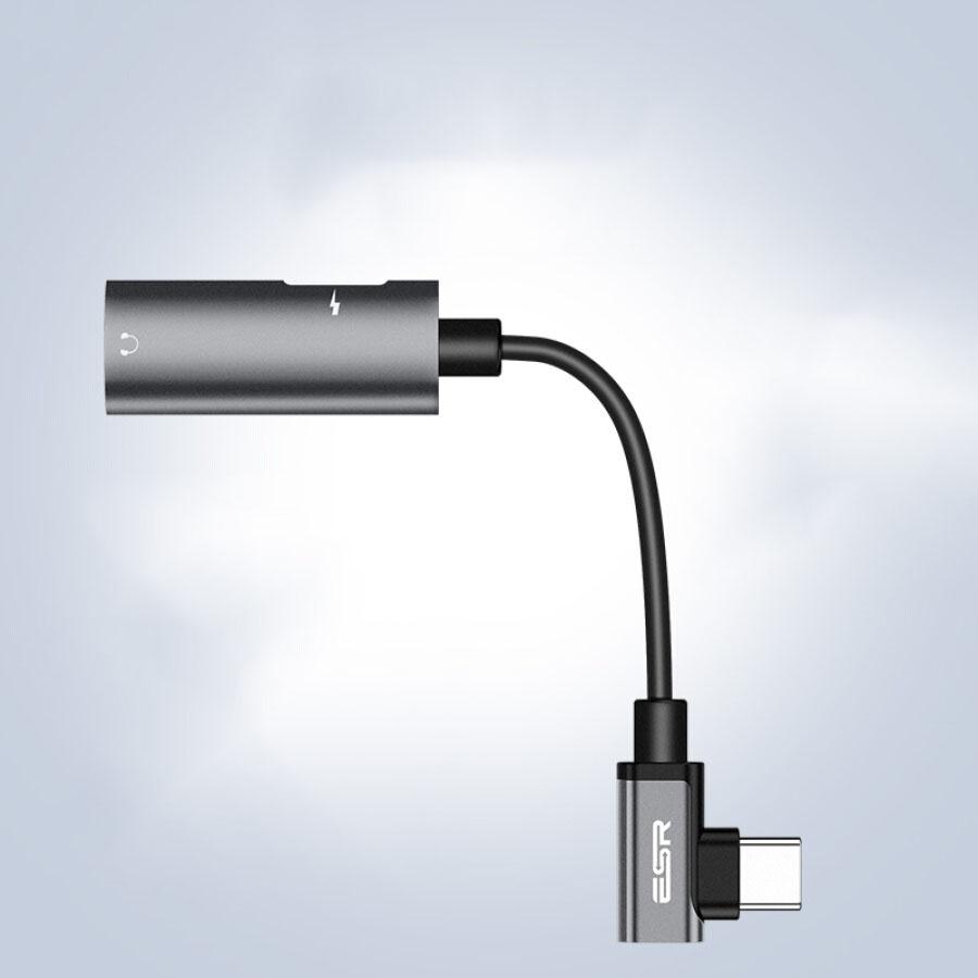 Dây Chuyển Đổi Cổng USB/ Type-C Sang 3.5mm ESR