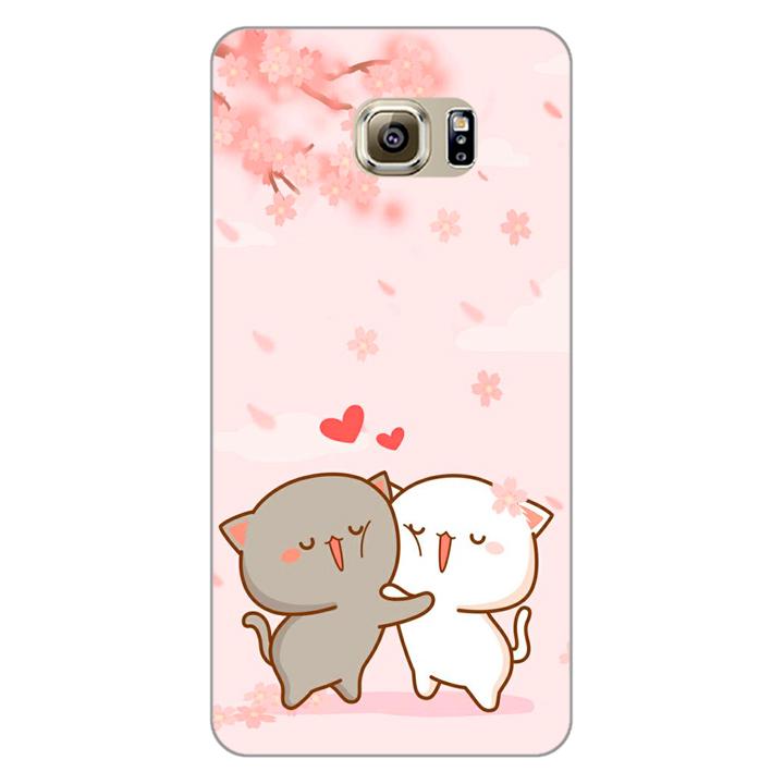 Ốp lưng dẻo cho điện thoại Samsung Galaxy Note 5 _0509 LOVELY05 - Hàng Chính Hãng
