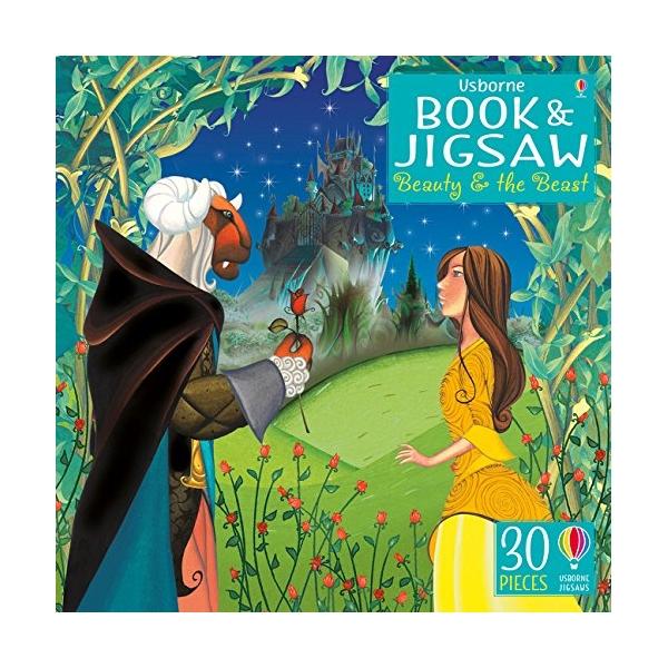 Beauty And The Beast: Usb Book  Jigsaw