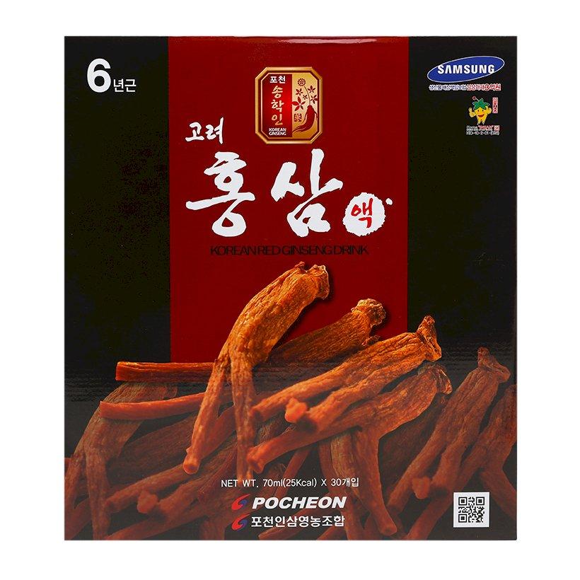 Nước Hồng Sâm Pocher Hàn Quốc 6 Tuổi  KOREAN RED GINSENG DRINK