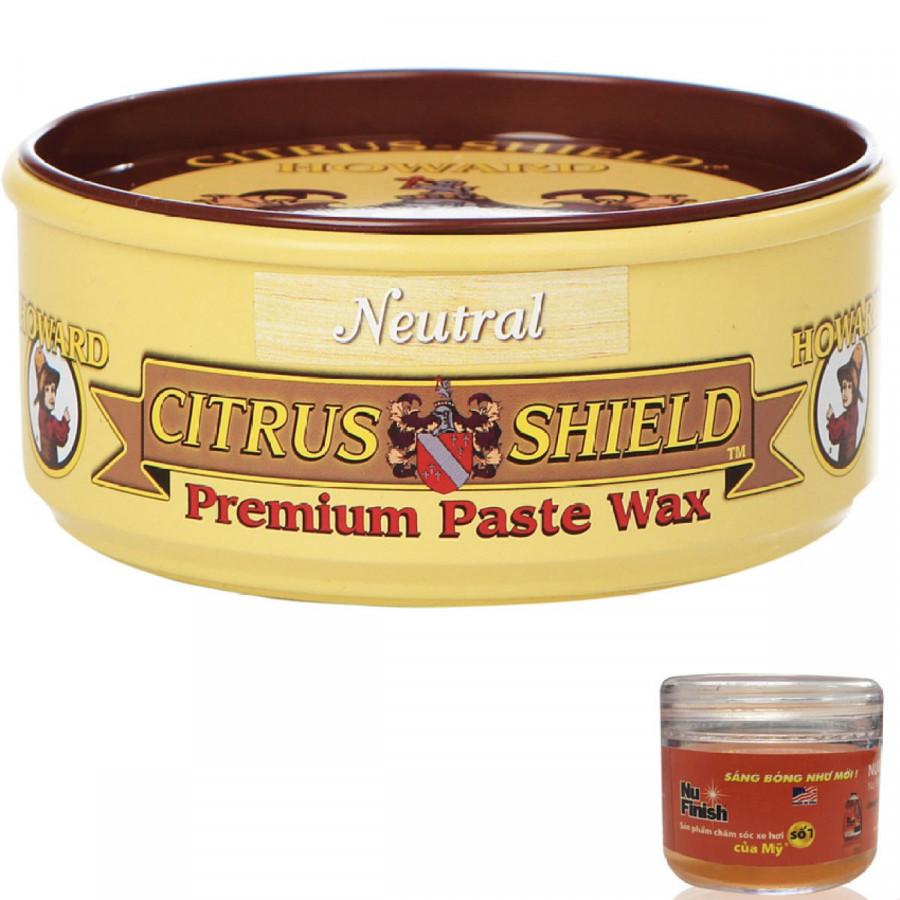 Sáp đánh bóng và bảo vệ gỗ Howard Citrus Shield CS0014 312g + Tặng nước rửa xe Nu Finish Car Wash 30ml - 761048 , 3805263717613 , 62_8408520 , 582560 , Sap-danh-bong-va-bao-ve-go-Howard-Citrus-Shield-CS0014-312g-Tang-nuoc-rua-xe-Nu-Finish-Car-Wash-30ml-62_8408520 , tiki.vn , Sáp đánh bóng và bảo vệ gỗ Howard Citrus Shield CS0014 312g + Tặng nước rửa xe