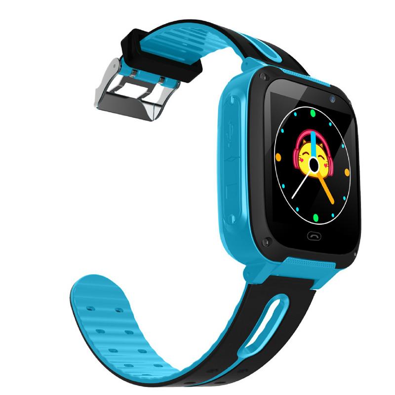 Anti-Lost Watch Smartwatch Kids Watch Blue Phone Touch Flashlight 1.44
