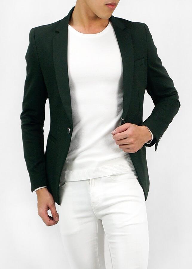 Áo Vest Nam Blazer Slim Fit
