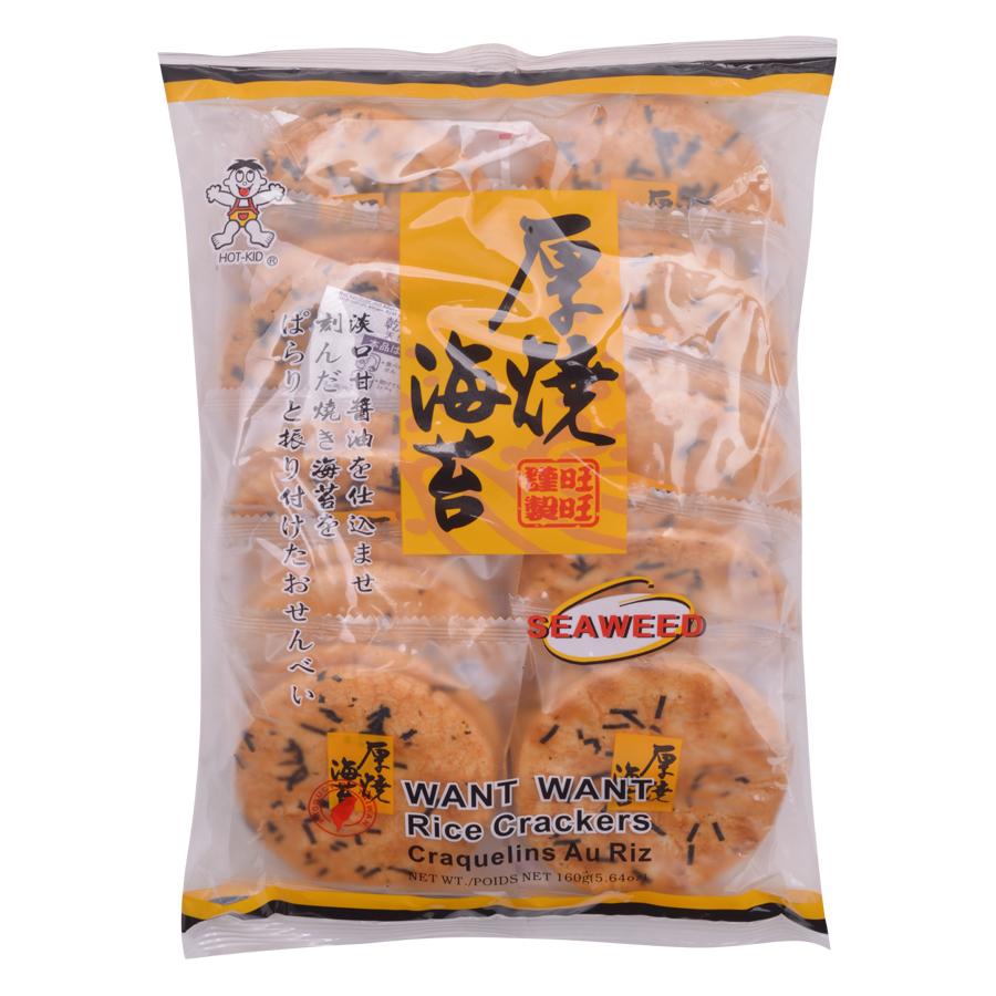 Bánh Gạo Want Want Rong Biển (160g) - 5284652 , 3641330389174 , 62_1114434 , 45000 , Banh-Gao-Want-Want-Rong-Bien-160g-62_1114434 , tiki.vn , Bánh Gạo Want Want Rong Biển (160g)