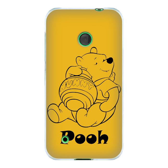 Ốp Lưng Nhựa Cứng Nhám Dành Cho Nokia Lumia 530 In Hình Pooh