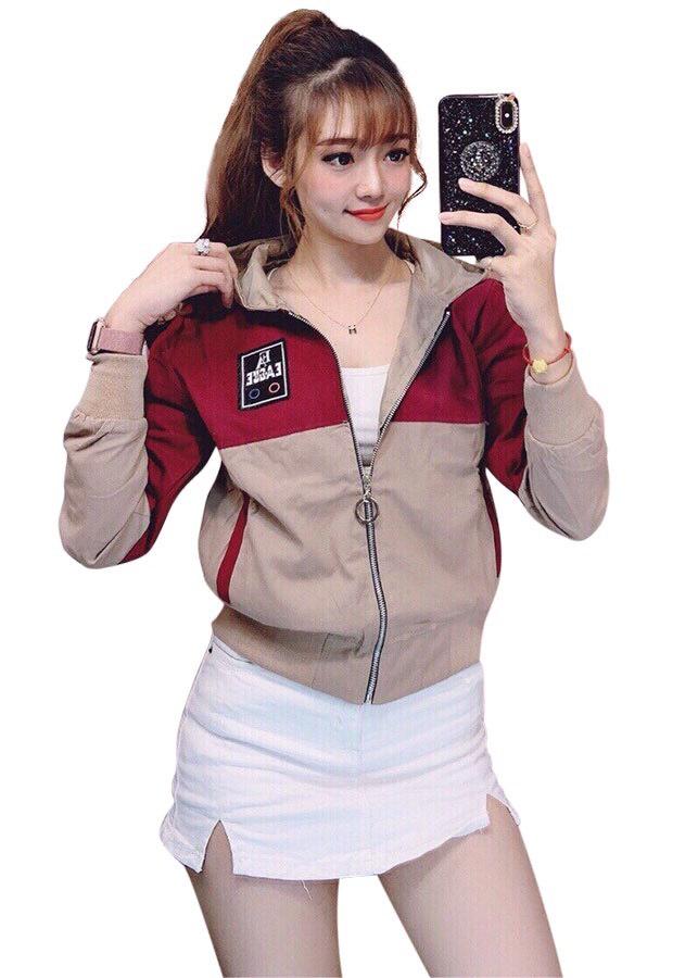 áo khoác dù nữ cao cấp TCS nâu/hồng logo vông - 5071079 , 2606732652463 , 62_15914060 , 300000 , ao-khoac-du-nu-cao-cap-TCS-nau-hong-logo-vong-62_15914060 , tiki.vn , áo khoác dù nữ cao cấp TCS nâu/hồng logo vông
