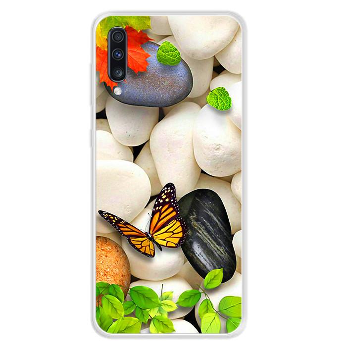Ốp lưng dẻo cho điện thoại Samsung Galaxy A70 - 0102 SPRING04 - Hàng Chính Hãng