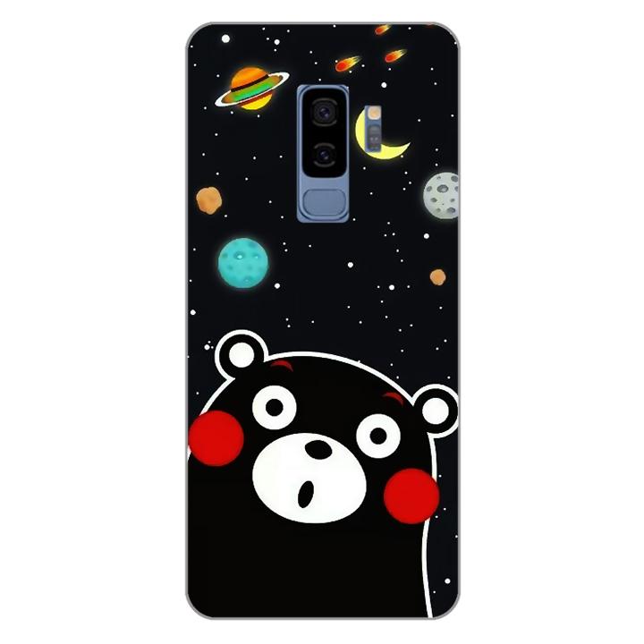 Ốp lưng dẻo Nettacase cho điện thoại Samsung Galaxy S9 Plus_0345 BEAR03 - Hàng Chính Hãng