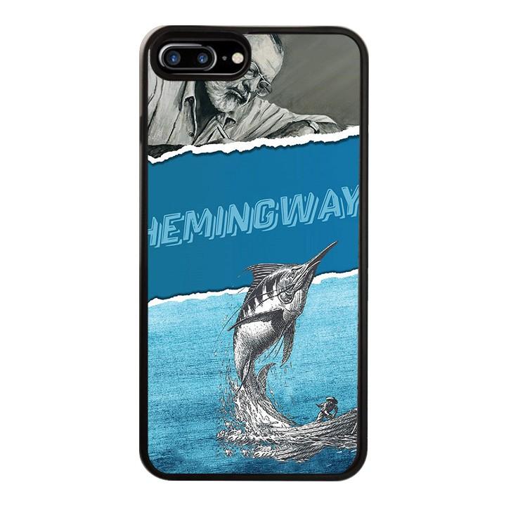 Ốp Lưng Kính Cường Lực Dành Cho Điện Thoại iPhone 7 Plus / 8 Plus Hemingway