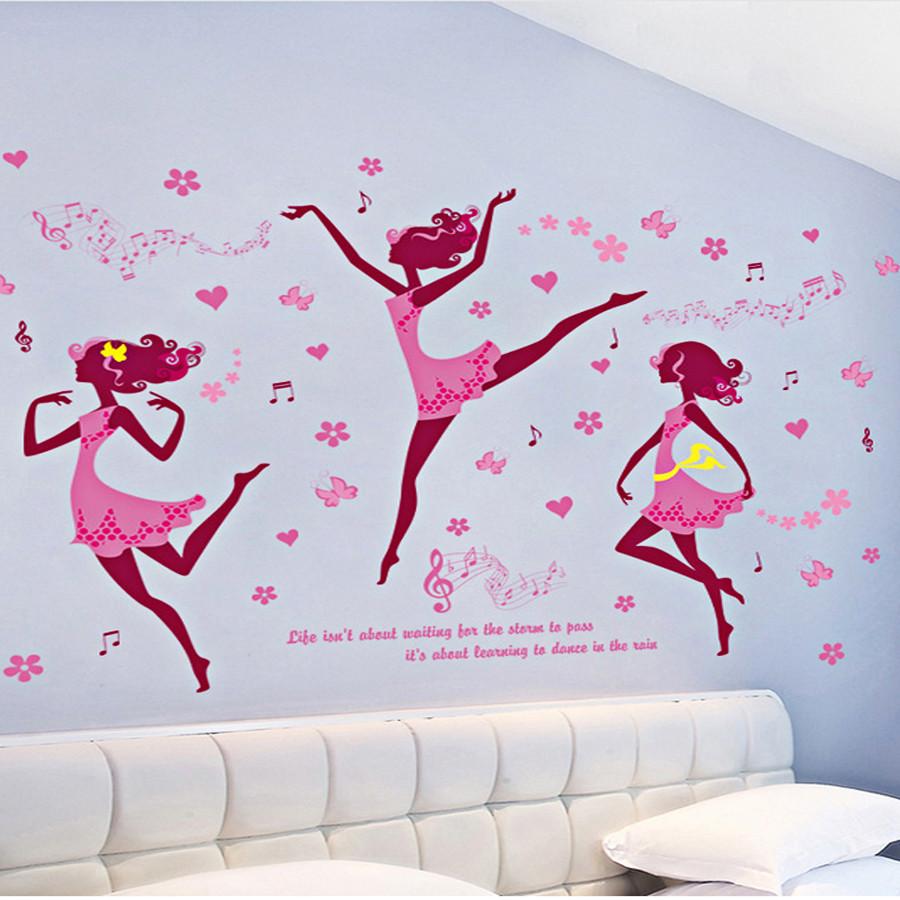 decal dán tường 3 cô gái váy hồng múa ba lê - 4850672 , 2629160998866 , 62_16218543 , 90000 , decal-dan-tuong-3-co-gai-vay-hong-mua-ba-le-62_16218543 , tiki.vn , decal dán tường 3 cô gái váy hồng múa ba lê