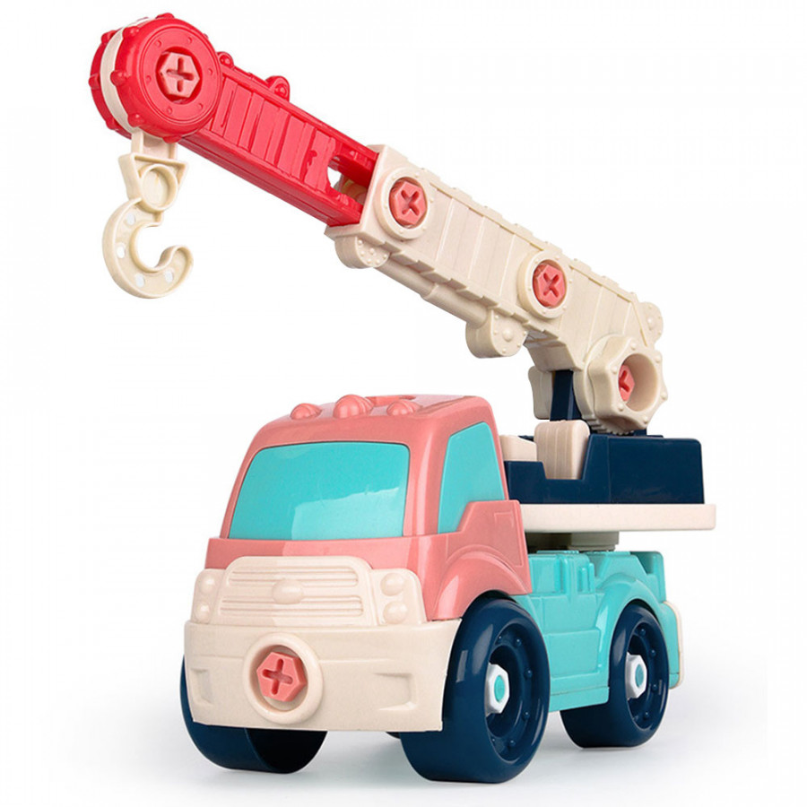 Truck Toy DIY Car Funny Plastic Interest Cultivation Safe Material