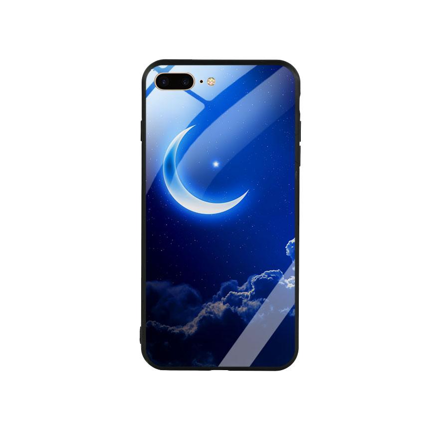 Ốp Lưng Kính Cường Lực cho điện thoại Iphone 7 Plus / 8 Plus -  0220 MOON01