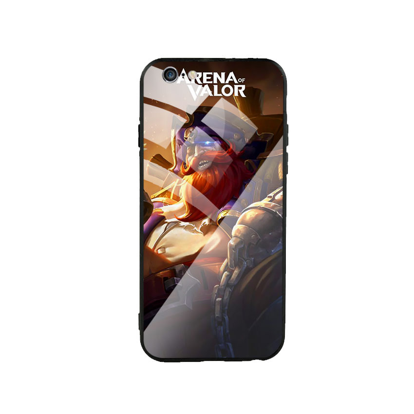 Ốp lưng kính cường lực cho điện thoại Iphone 6 Plus / 6s Plus - Game 06