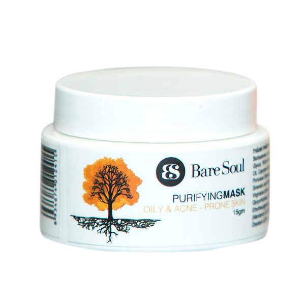 Mặt nạ thanh lọc BareSoul – Da dầu và da mụn 15g – Purifying Mask Oily  Acne Prone Skin