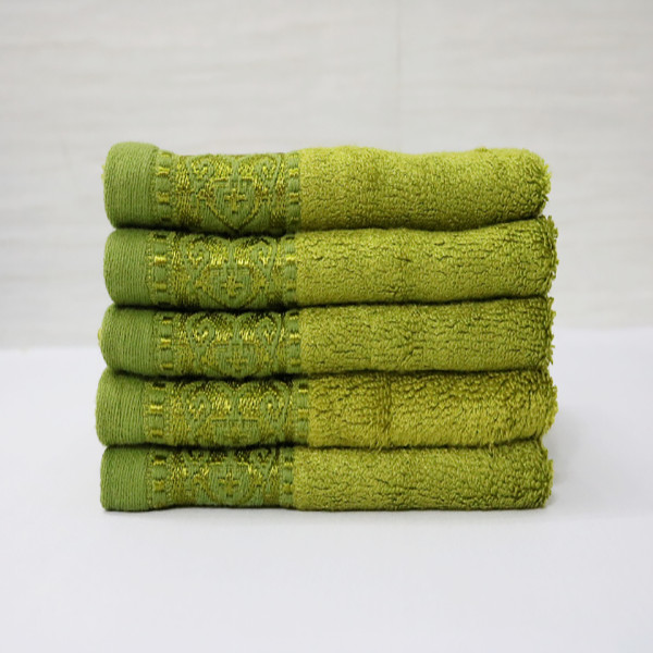 Combo 3 khăn sợi tre Nam Phong - 30x50 cm - màu xanh rêu