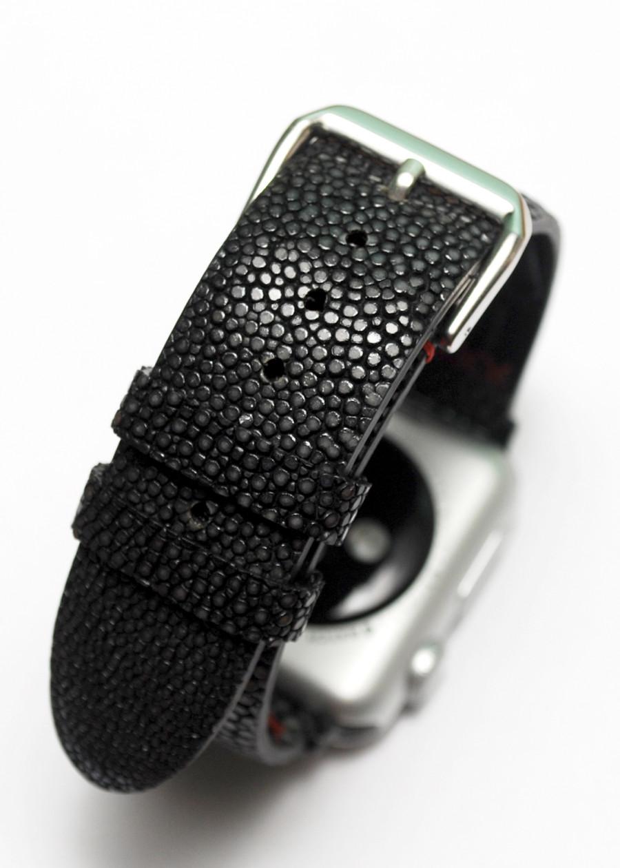Dây đồng hồ cá Đuối cho Apple Watch bản 40,44mm - 812485 , 3963498589853 , 62_14802932 , 600000 , Day-dong-ho-ca-Duoi-cho-Apple-Watch-ban-4044mm-62_14802932 , tiki.vn , Dây đồng hồ cá Đuối cho Apple Watch bản 40,44mm