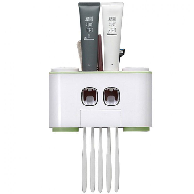 Bộ nhả kem đánh răng tự động cao cấp + Tặng lấy ráy tai cho đèn