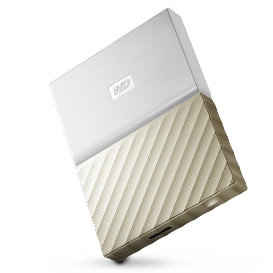 Ổ Cứng Di Động WD WDBTLG0010BGD-CESN My Passport Ultra 1TB - Hàng Chính Hãng - Vàng Trắng