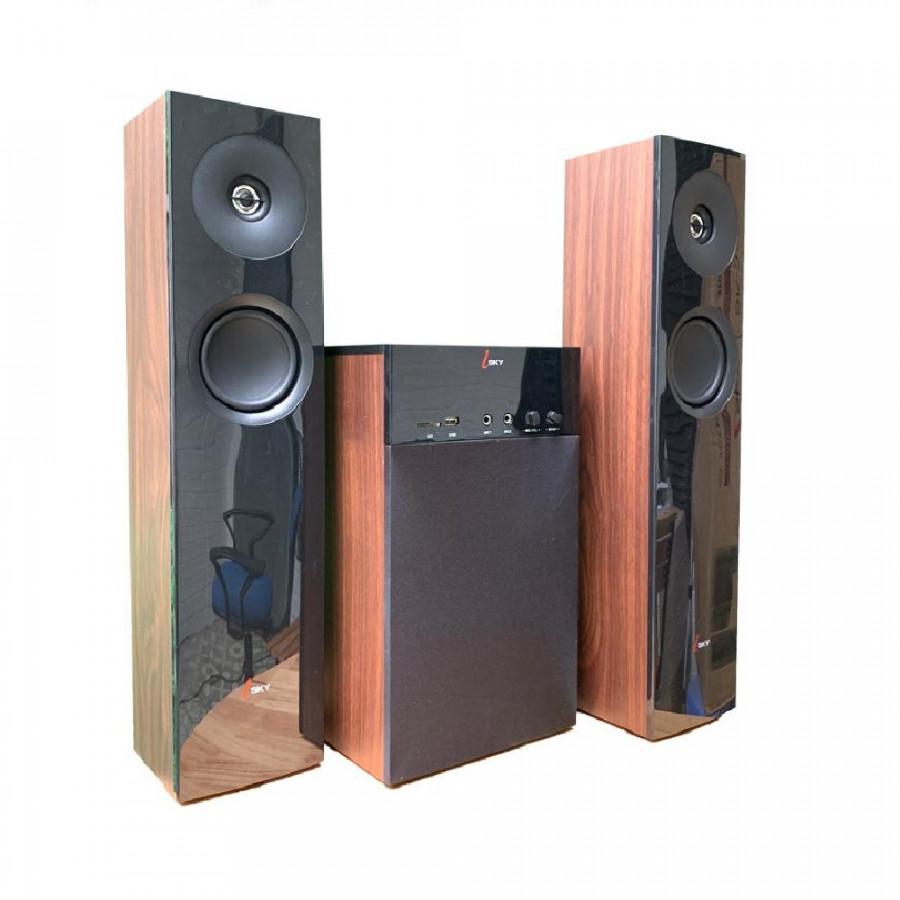 Loa vi tính cỡ lớn  Hát karaoke Isky - SK325  Bass siêu trầm- có kết nối Bluetooth - dàn âm thanh tại gia, dàn karaoke gia...