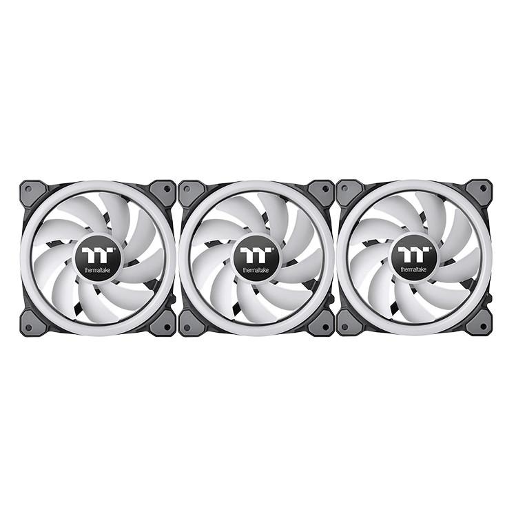 Bộ 3 Quạt Tản Nhiệt Thermaltake Riing Trio 12 LED RGB (3-Fan Pack) CL-F072-PL12SW-A - Hàng Chính Hãng - 798545 , 5645646703417 , 62_14512631 , 2990000 , Bo-3-Quat-Tan-Nhiet-Thermaltake-Riing-Trio-12-LED-RGB-3-Fan-Pack-CL-F072-PL12SW-A-Hang-Chinh-Hang-62_14512631 , tiki.vn , Bộ 3 Quạt Tản Nhiệt Thermaltake Riing Trio 12 LED RGB (3-Fan Pack) CL-F072-PL12