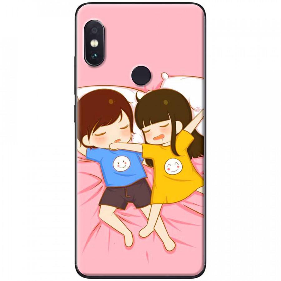 Ốp lưng dành cho Xiaomi Redmi Note 6 mẫu Ngủ phè phởn